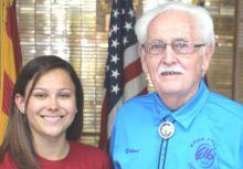 Lodge Donates To National Honor Society