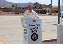 Flag Retirement Drop Box